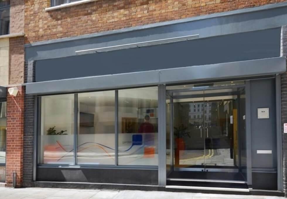 Shelton Street WC2 office space – Building External