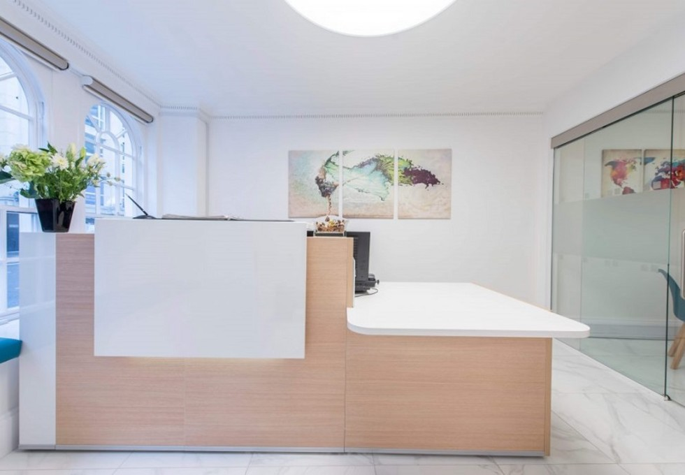 Borough High Street SE1 office space – Reception