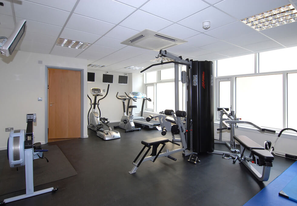 Beech Street EC1 office space – Gym
