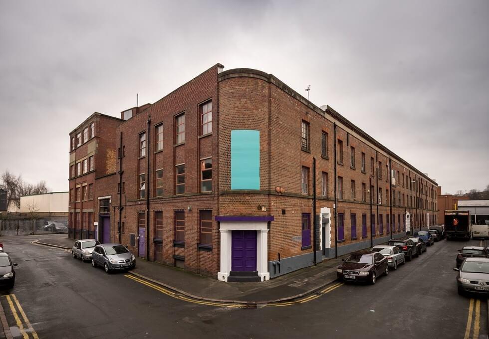 Roden Street NG1 office space – Building External