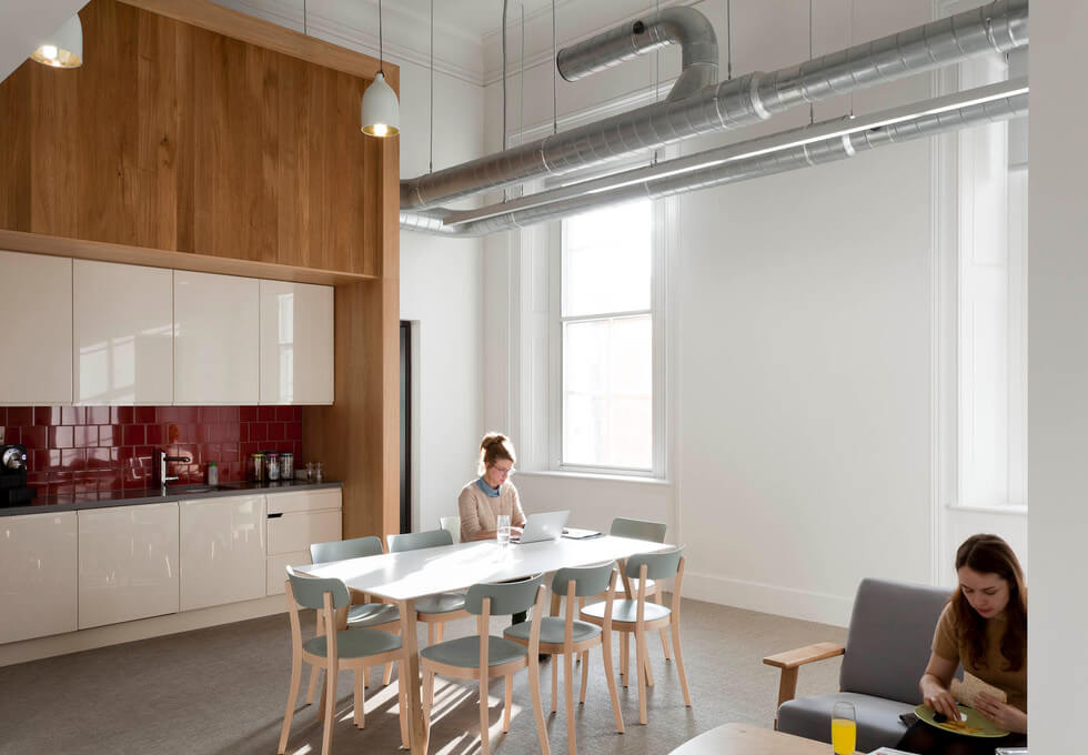 Eastbourne Terrace W2 office space – Kitchen