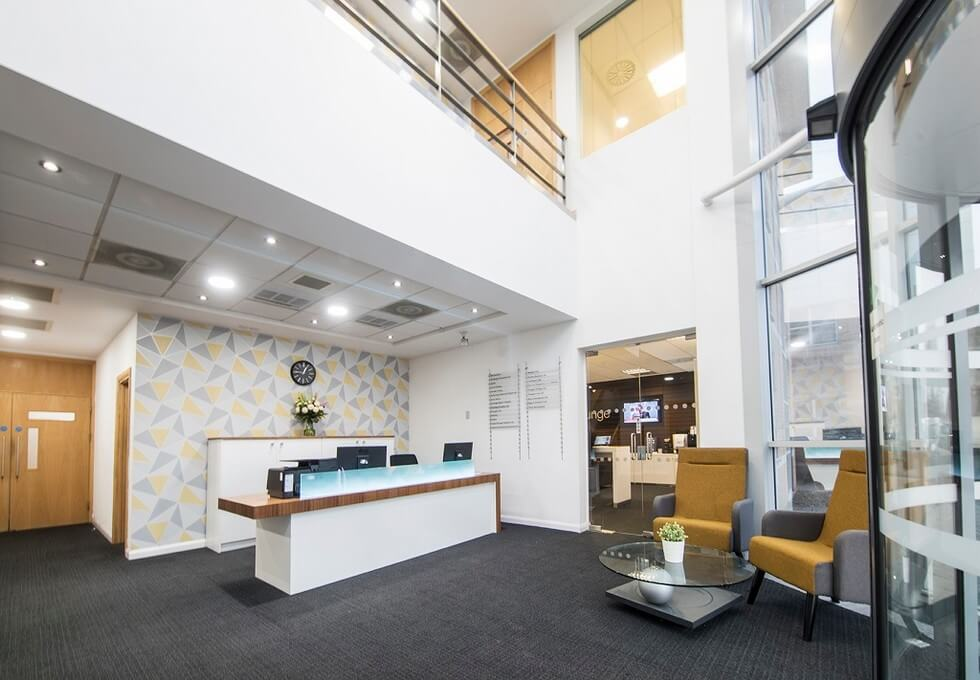 Herald Way DE74 office space – Reception
