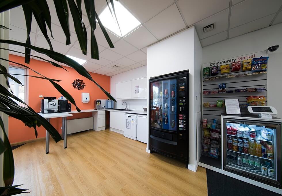 Emperor Way EX2 office space – Kitchen