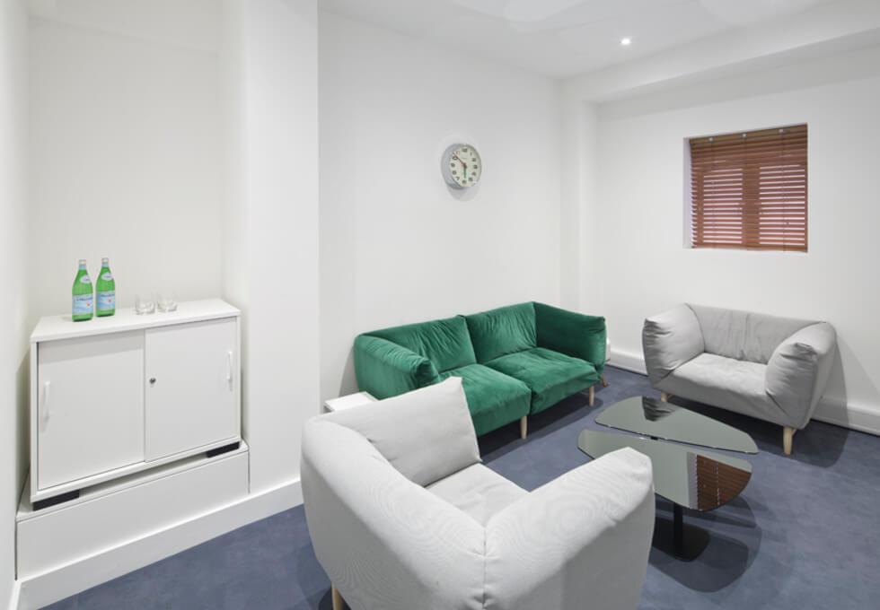 Brune Street E1 office space – Break Out Area