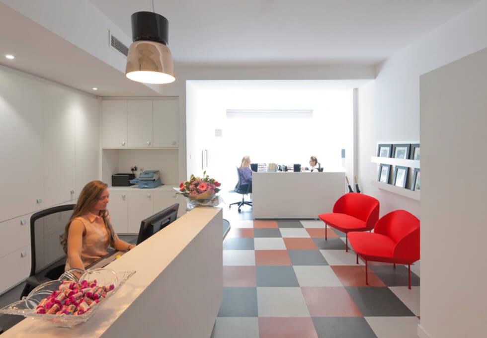 Brune Street E1 office space – Reception