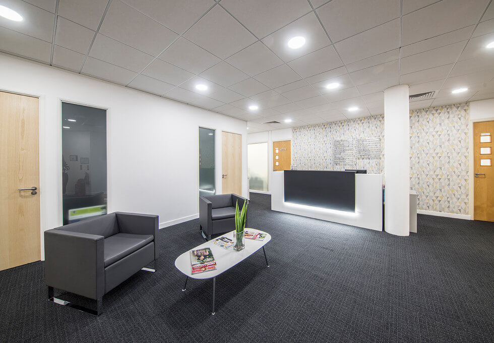 St. Crispins Road NR1 office space – Reception