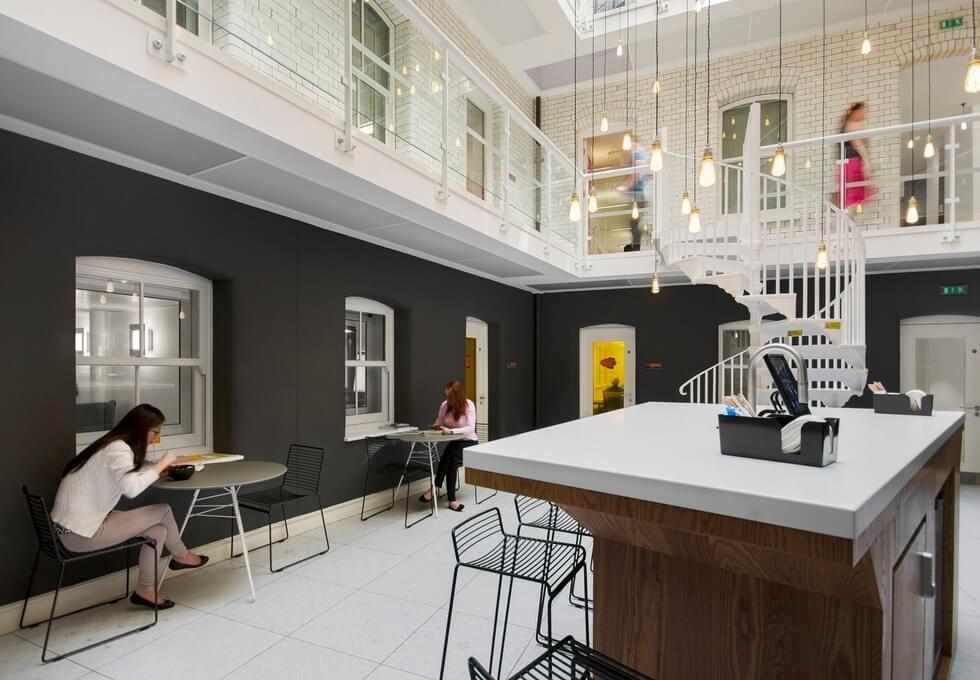 Chancery Lane WC1 office space – Atrium