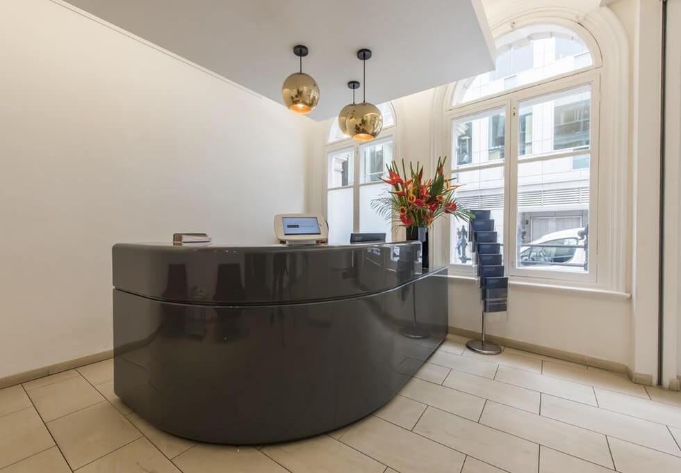 Worship Street EC1 office space – Reception