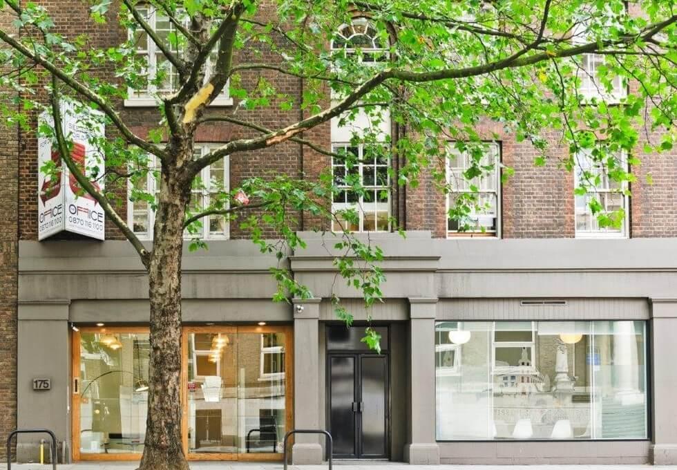 Grays Inn Road WC1 office space – Building External