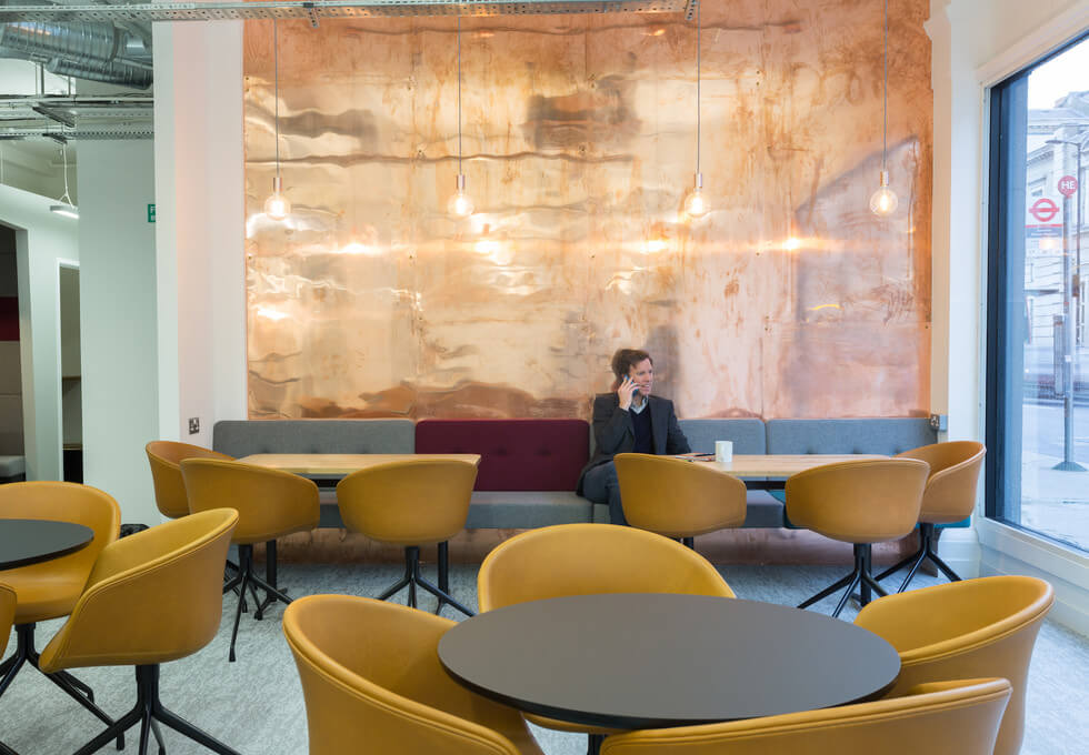 Grays Inn Road WC1 office space – Break Out Area