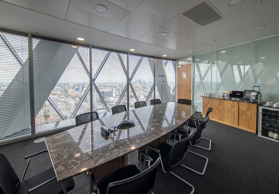 St Mary Axe EC1 office space – Meeting/Boardroom