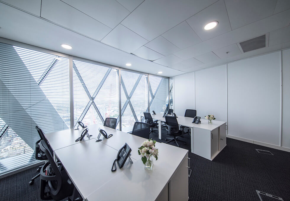 St Mary Axe EC1 office space – Private Office (different sizes available)