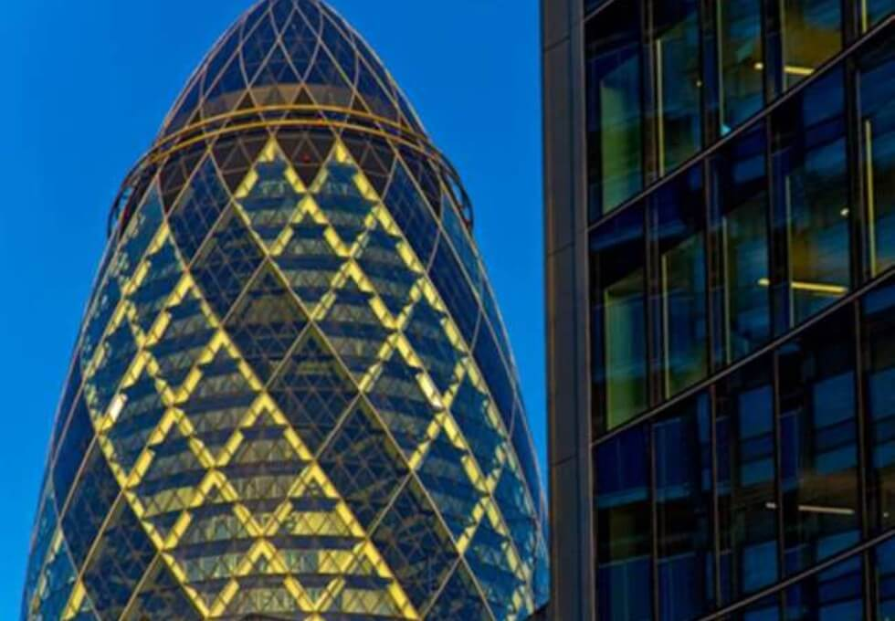 St Mary Axe EC1 office space – Building External