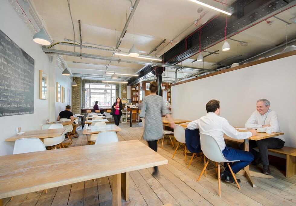 Clerkenwell Close EC1 office space – Break Out Area