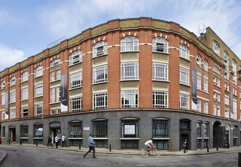 Clerkenwell Close EC1 office space – Building External