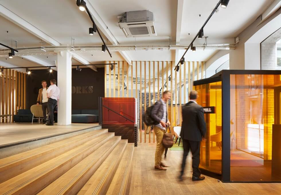 Hatfields SE1 office space – Atrium