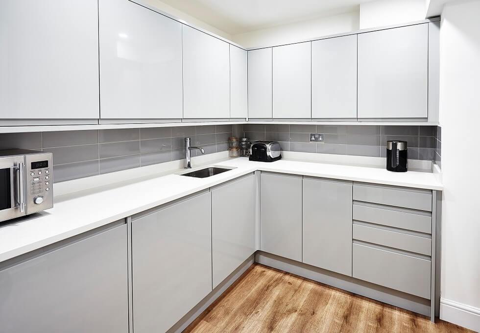 Broadwick Street W1 office space – Kitchen