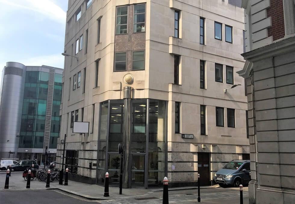 Dowgate Hill EC4 office space – Building External