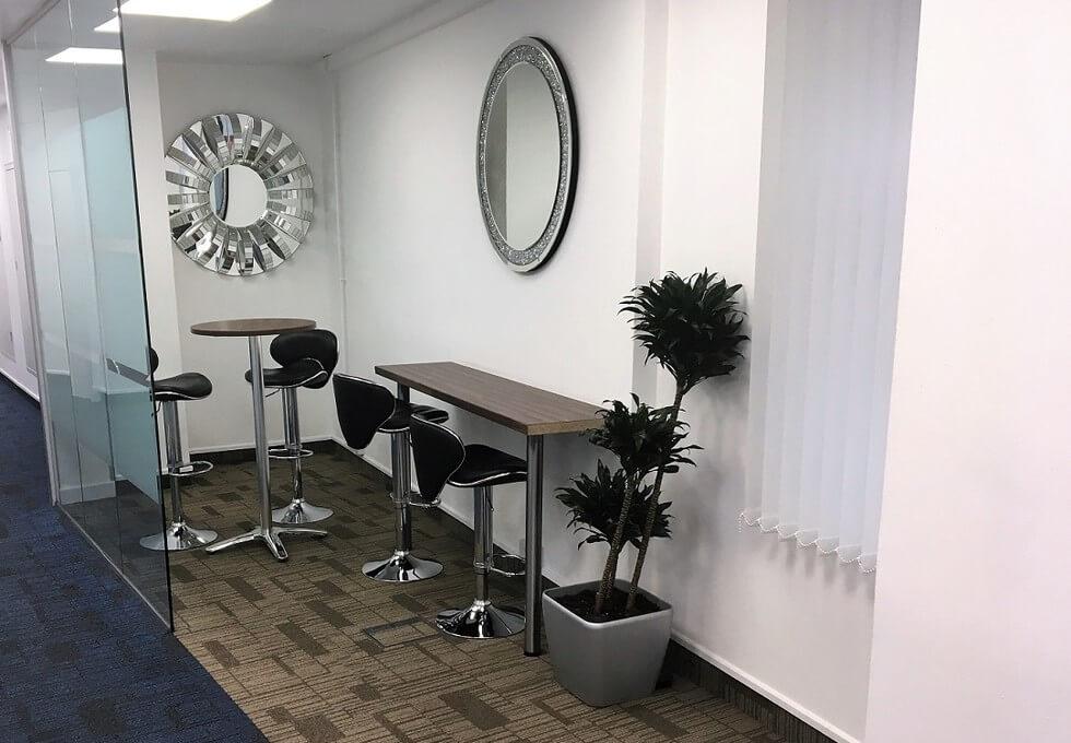 Dowgate Hill EC4 office space – Break Out Area