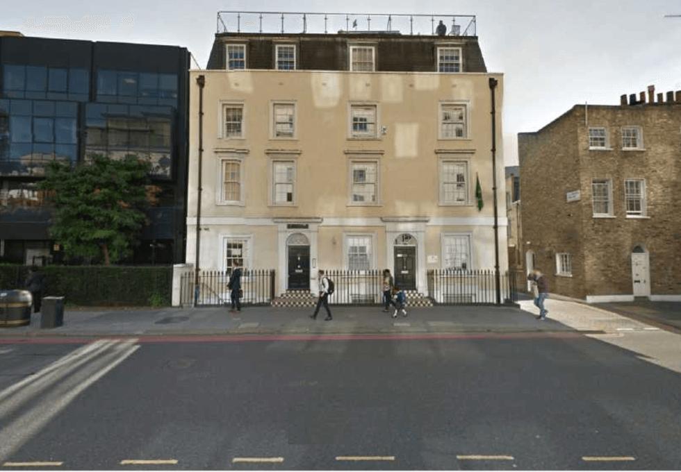 Vauxhall Bridge Road SW1 office space – Building External