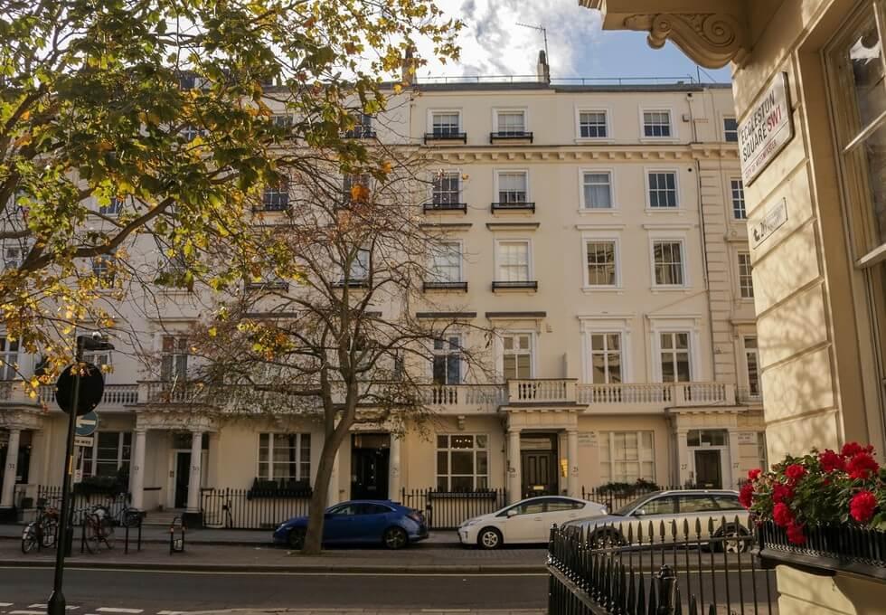 Eccleston Square SW1 office space – Building External