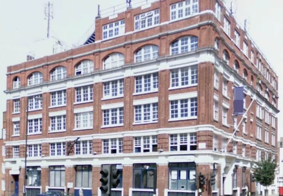 Goswell Road EC1 office space – Building External