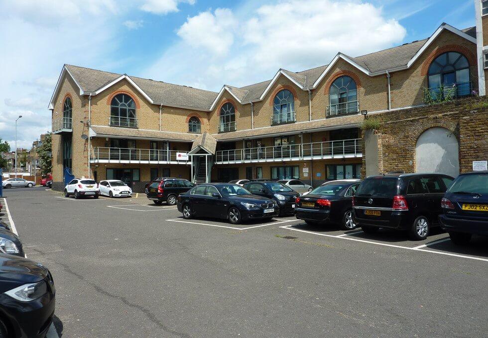 Grinstead Road SE8 office space – Building External