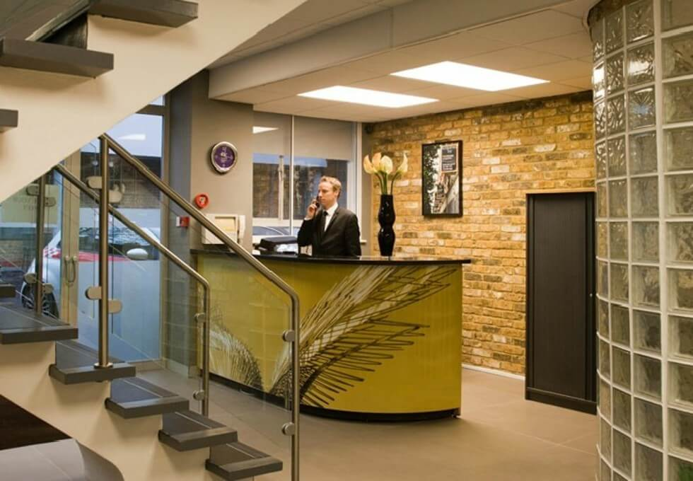Coleman Fields N1 office space – Reception