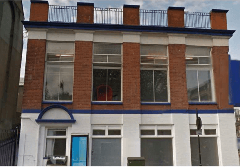 Pentonville Road N18 office space – Building External