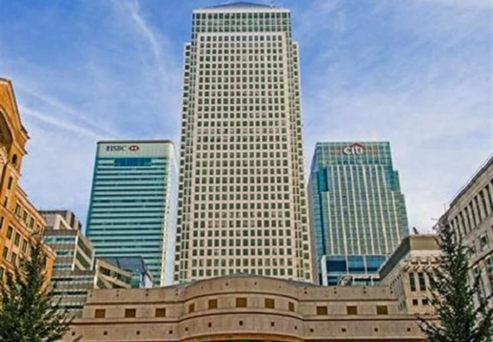 Canada Square E14 office space – Building External