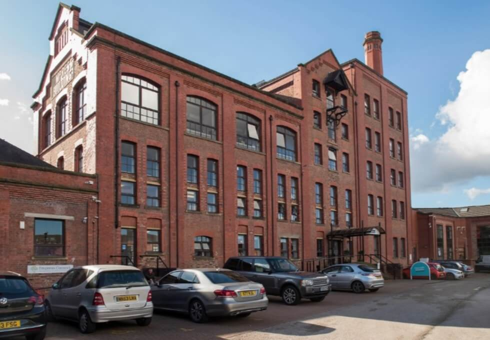 Chester Road M1 office space – Building External