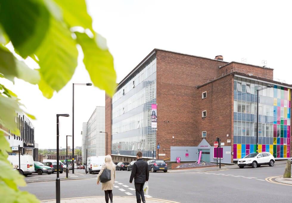 Blucher Street B1 office space – Building External