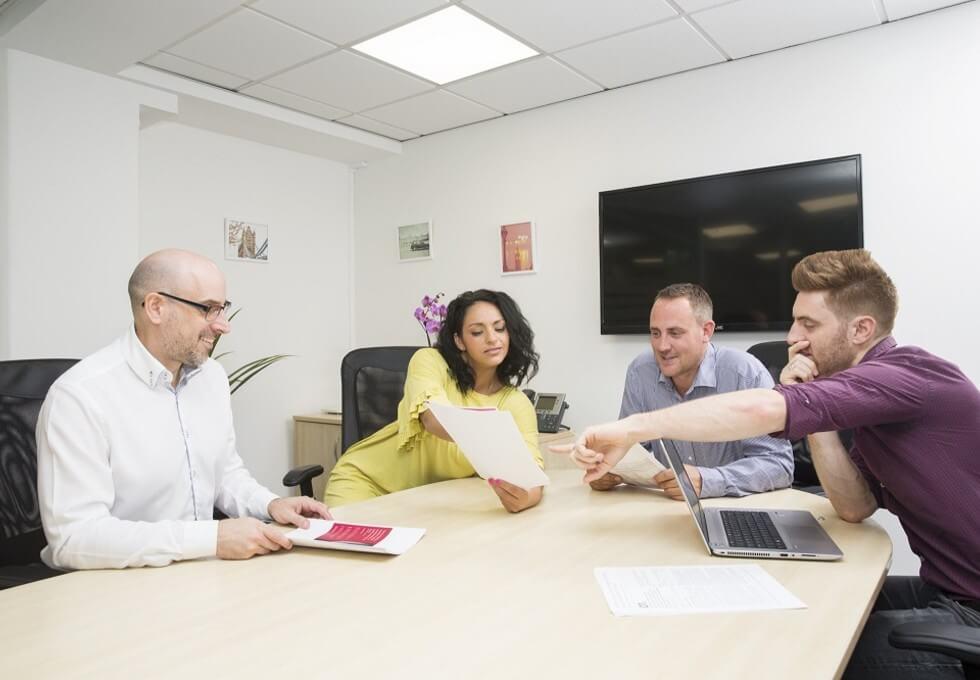 Blucher Street B1 office space – Meeting/Boardroom