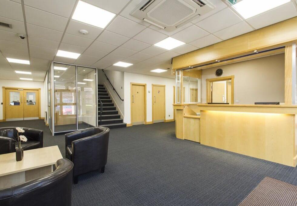 Summerhouse Road NN1 - NN6 office space – Reception