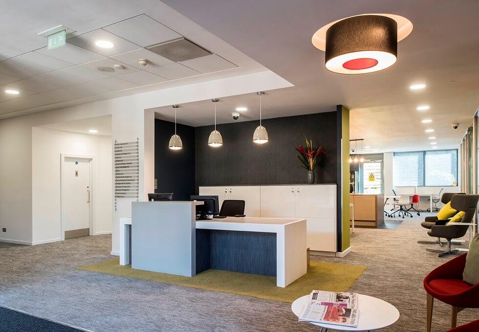Robert Robinson Avenue OX1 office space – Reception