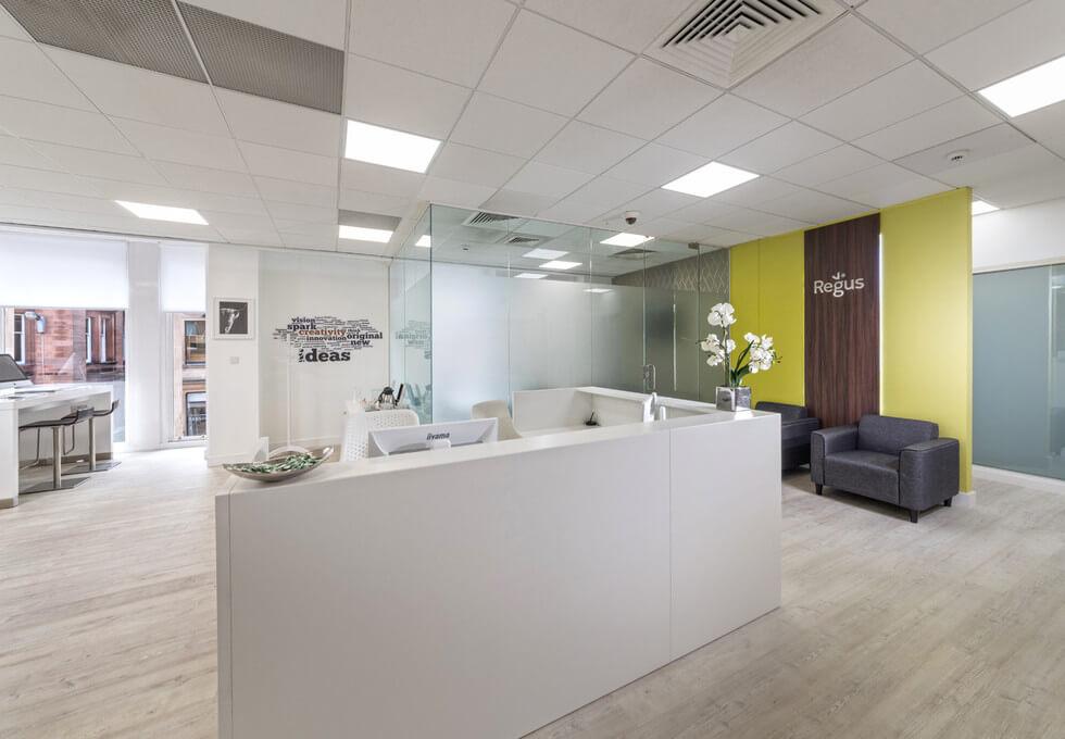 Buchanan Steet G1 office space – Reception
