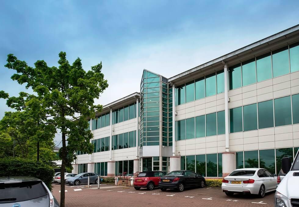 Pavillion Drive NN1 - NN6 office space – Building External
