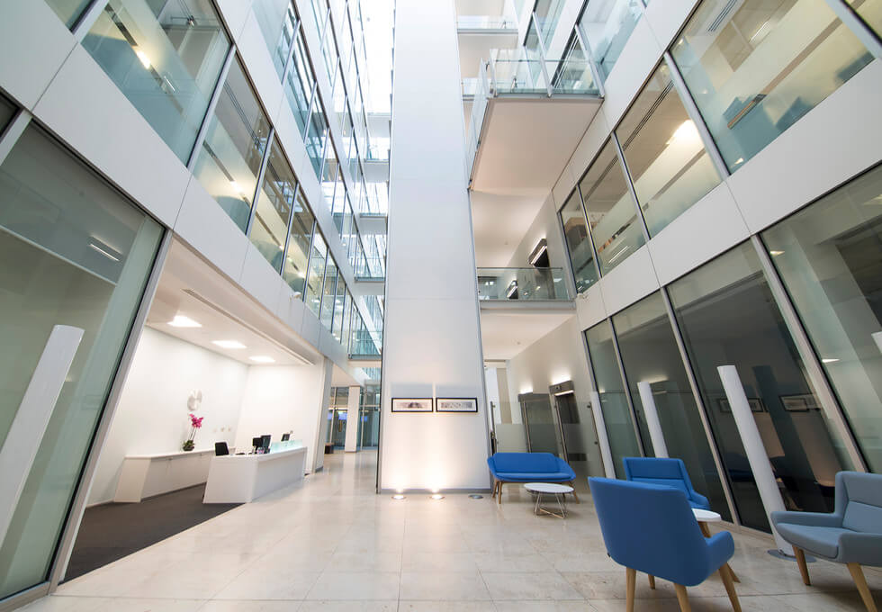 Forbury Square RG1 office space – Reception