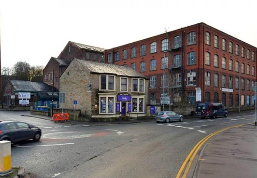Mellor Street OL11 office space – Building External