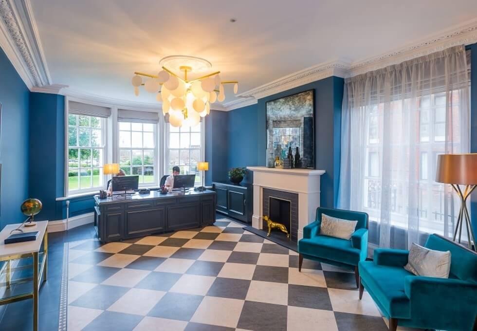 Greenalls Avenue WA1 office space – Reception
