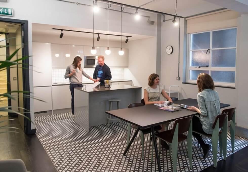 High Street BS1 office space – Kitchen