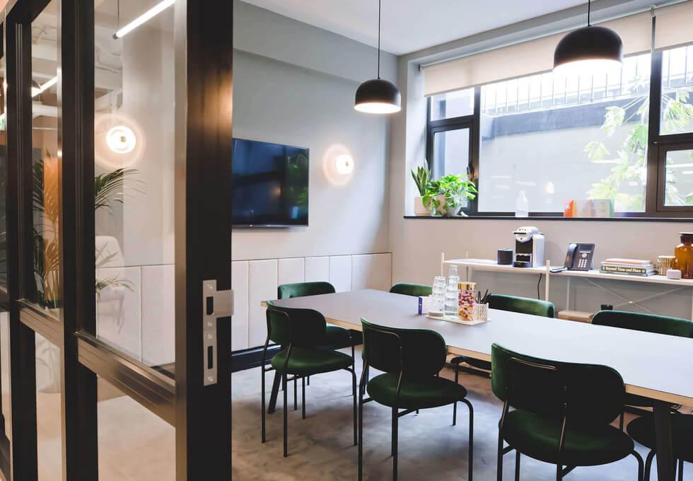 Kirby Street EC1 office space – Meeting/Boardroom