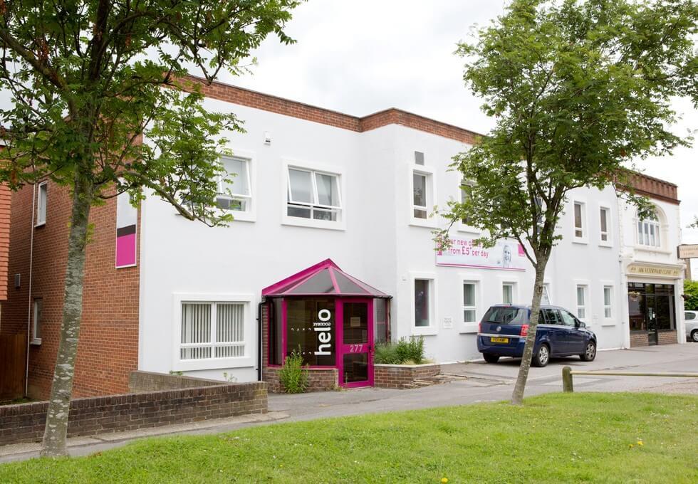 London Road RH15 office space – Building External