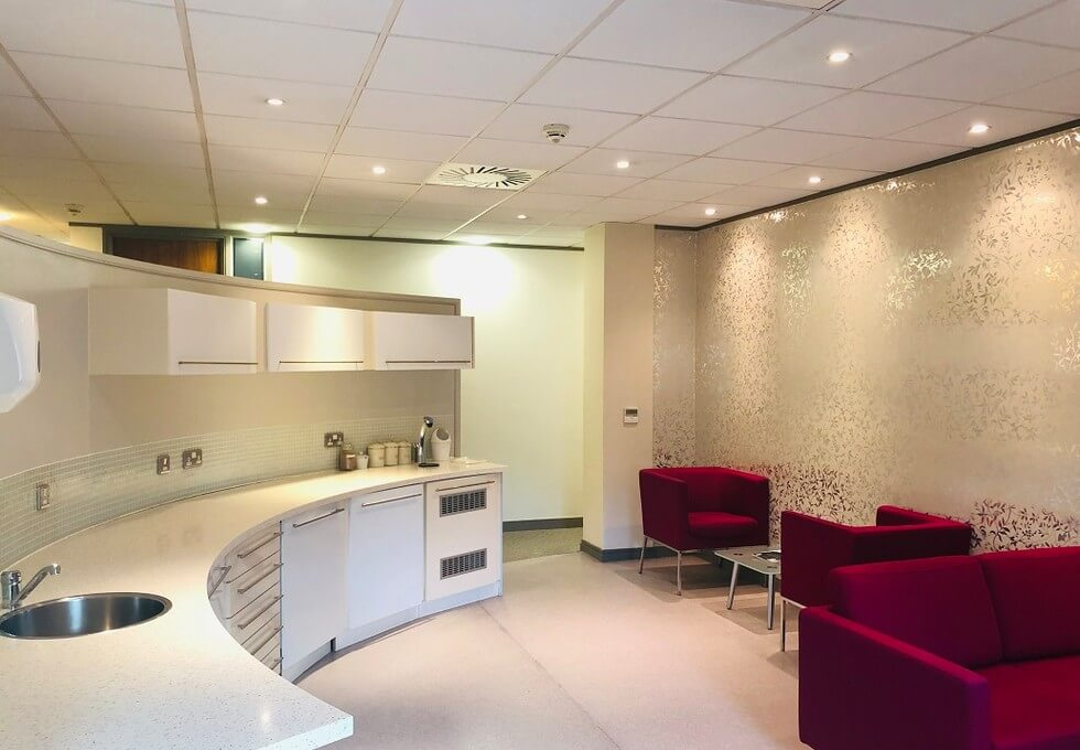 Pepper Street E14 office space – Kitchen