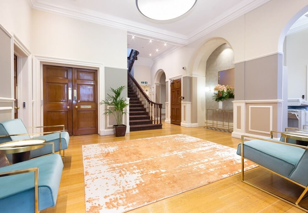 Devonshire Street W1 office space – Foyer