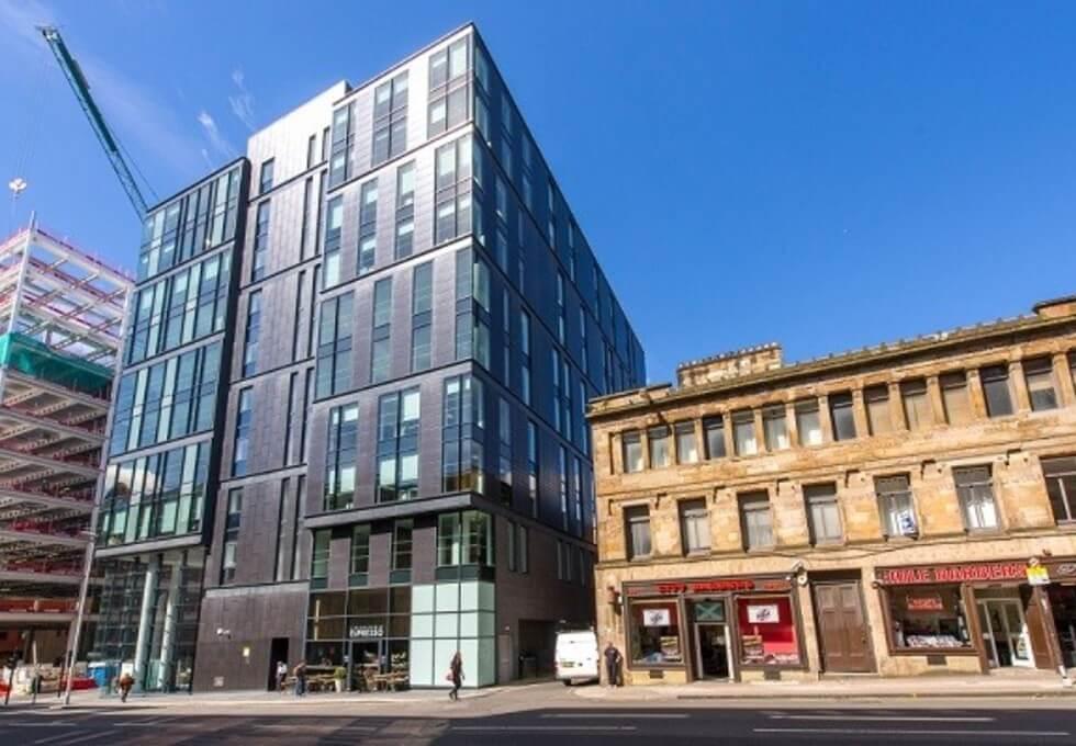 West Regent Street G1 office space – Building External
