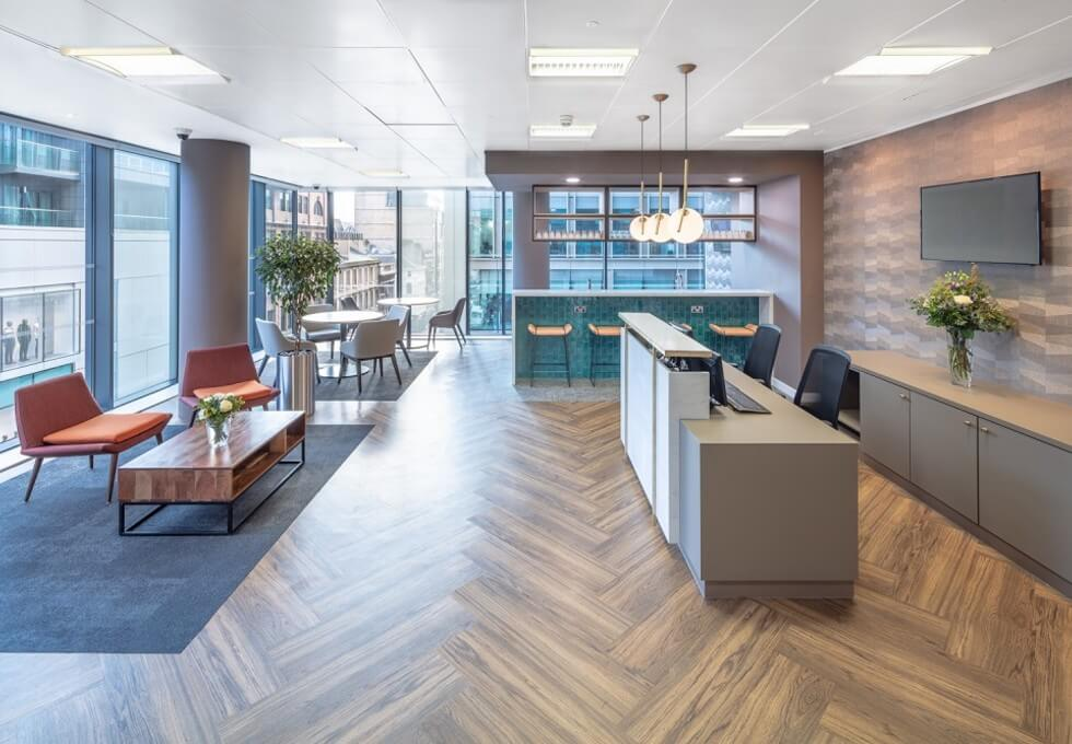 West Regent Street G1 office space – Reception