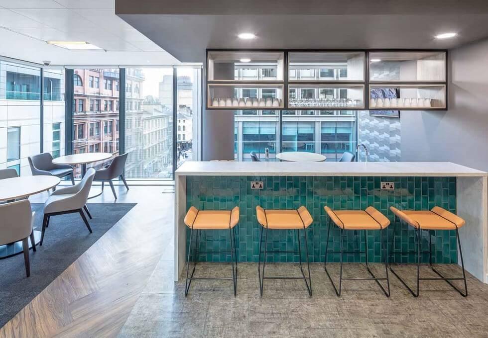West Regent Street G1 office space – Break Out Area