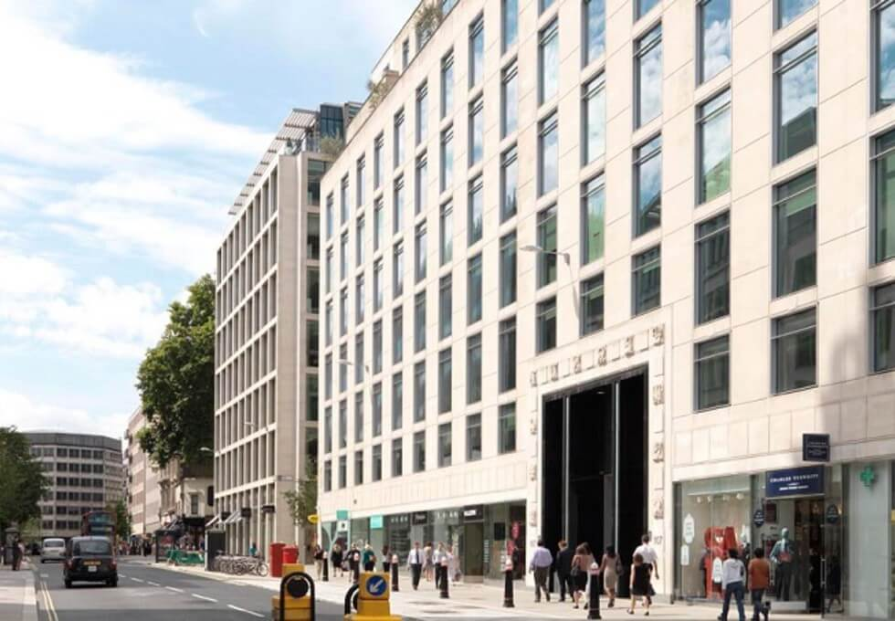 Cheapside EC1 office space – Building External
