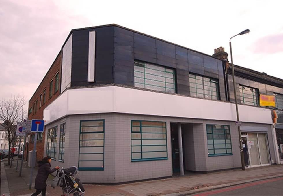 Falcon Road SW2 office space – Building External